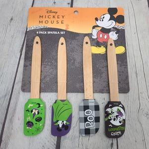 Disney Mickey Mouse Halloween Spatula Set 4 Pack
